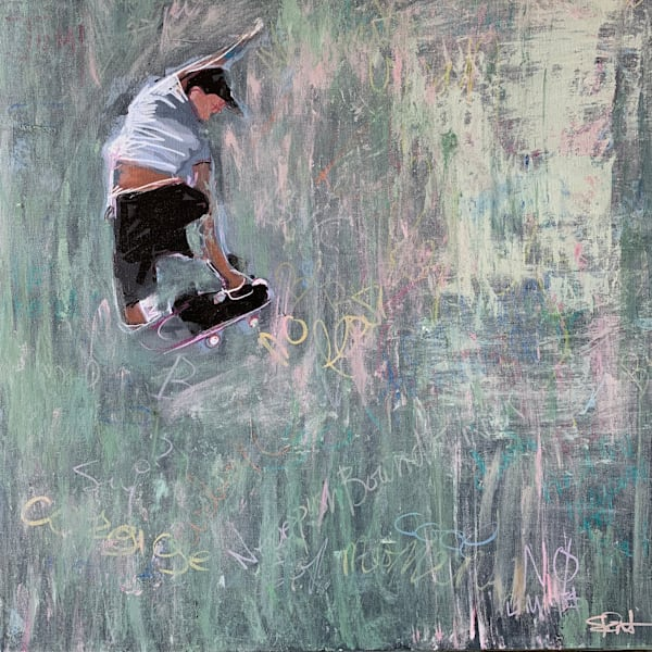 Original Paintings of Skate Art by Steph Fonteyn