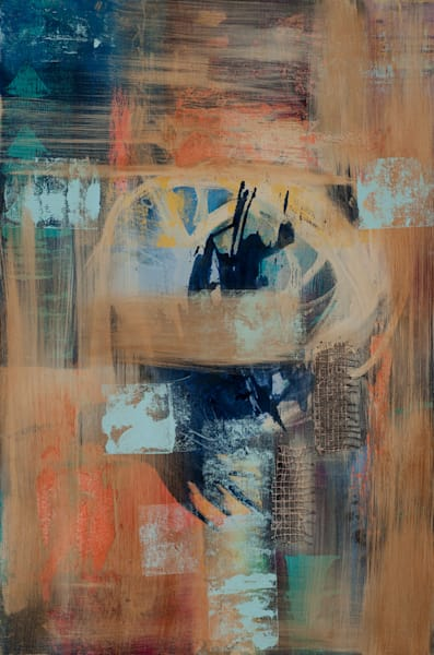 Dimensions Gathered contemporary abstract art by Jana Kappeler