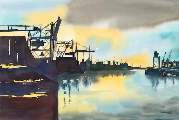 Jan Gellatly - Clydeside Dockyards