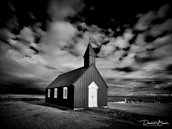 The Black Church  Photography Art | David Beavis Fine Art