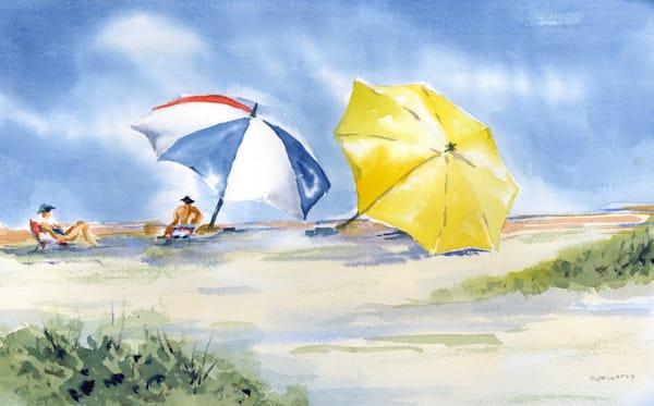 Jan Gellatly - Yellow Umbrella