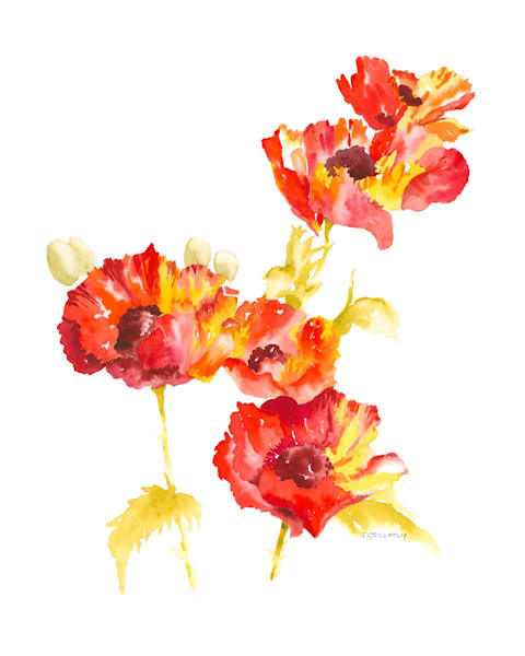 Jan Gellatly - Marsha's Poppies