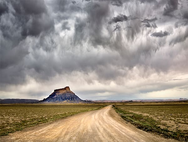 On A Dark Desert Highway Photography Art | David Beavis Fine Art