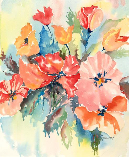 Jan Gellatly - Poppies