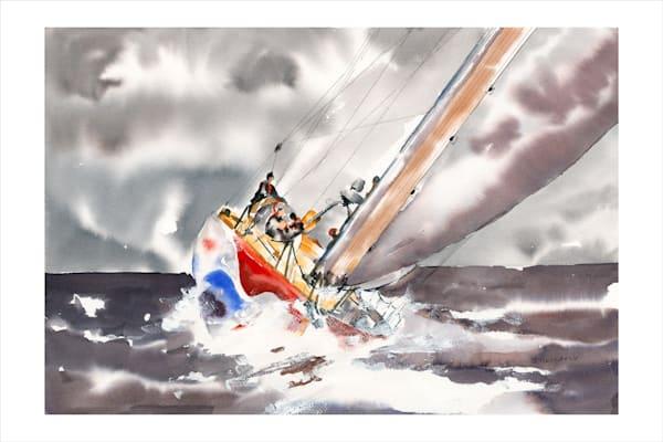 Jan Gellatly - Rough Sail