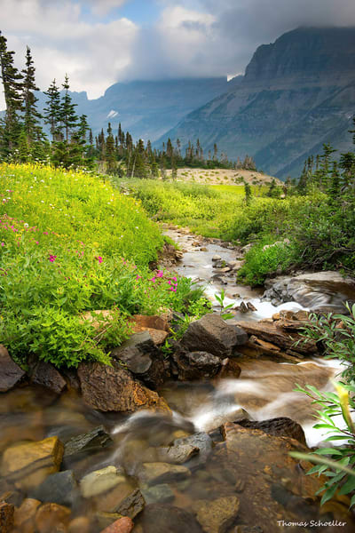 Glacier National Park Garden Wall Divide | Luxury Fine Art Nature Photography Prints