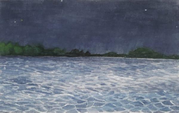 Night Lake by Mark Granlund
