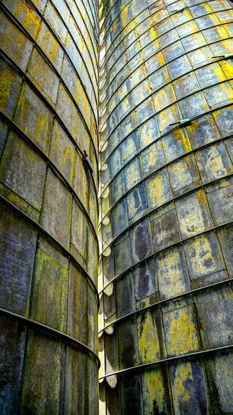Lines On Two Silos