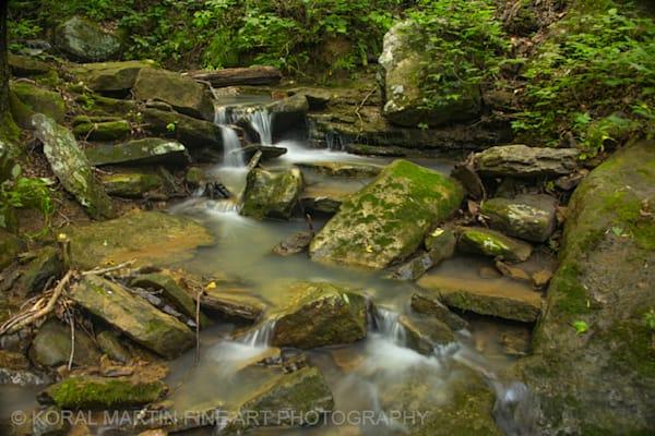 Artist Point Small Waterfall Photograph 4798 | Waterfall Photography | Koral Martin Fine Art Photography