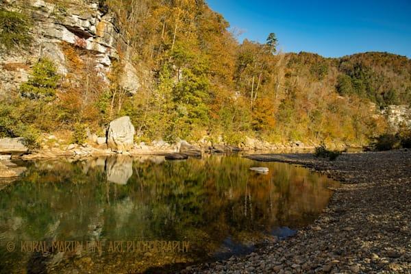 Buffalo River in the Fall | Waterfall Photography | Koral Martin Fine Art Photography