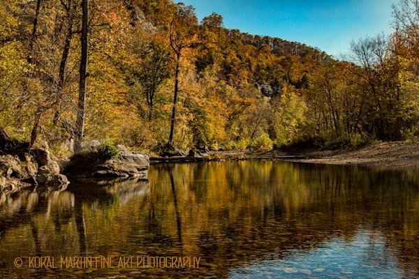 Fall at Steel Creek Buffalo River Arkansas | Waterfall Photography | Koral Martin Fine Art Photography