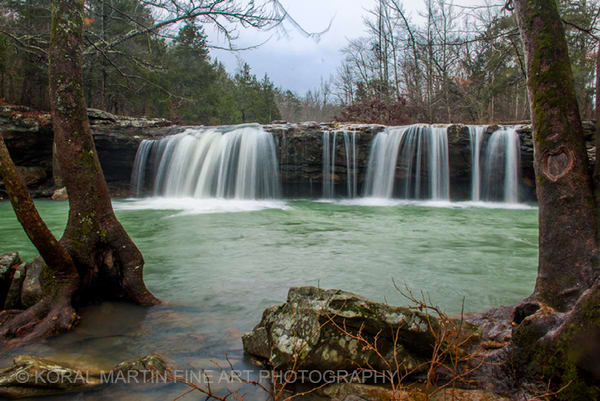 Falling Water Falls Photograph 8232 | Waterfall Photography | Koral Martin Fine Art Photography