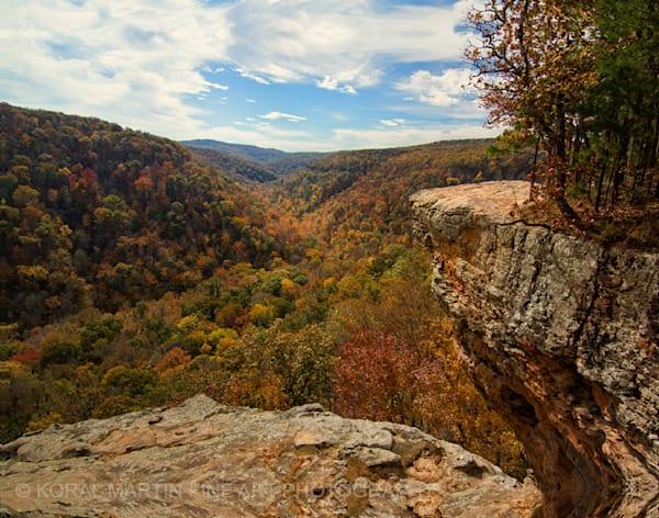 Hawksbill Crag Fall 2104  Photograph | Waterfall  Photography |  Koral Martin Fine Art Photography