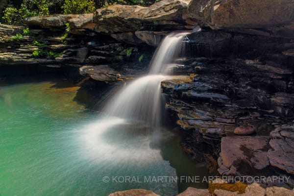 King River Falls Photograph 7322 | Waterfall Photography | Koral Martin Fine Art Photography