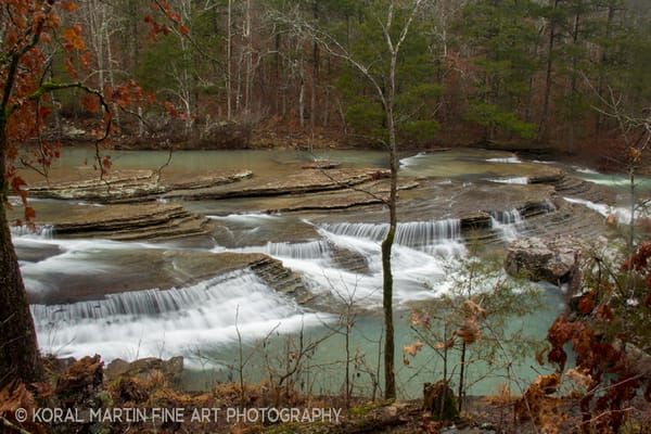 Six Finger Falls Arkansas Photograph 8298  | Waterfall Photography | Koral Martin Fine Art Photography