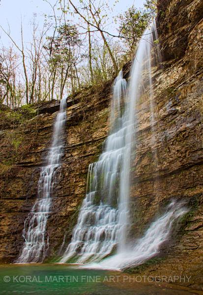 Triple Falls 2191 Arkansas    Photograph | Waterfall  Photography |  Koral Martin Fine Art Photography