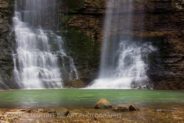 Triple Falls Photograph 7461 | Waterfall Photography | Koral Martin Fine Art Photography