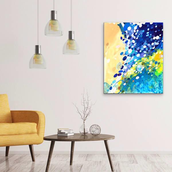 Dots of Life ( Bokeh) Painting on Canvas by Artist  Deepa Koshaley