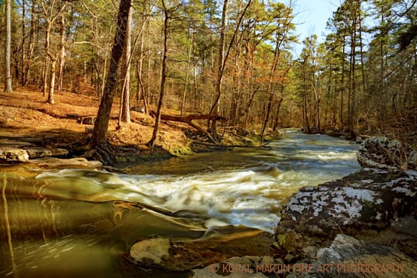 Cedar Creek Below Davis Bridge Photograph 7337 | Waterfall Photography | Koral Martin Fine Art Photography