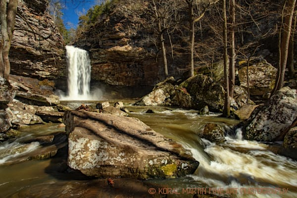 Cedar Falls Photograph 7244 | Waterfall Photography | Koral Martin Fine Art Photography