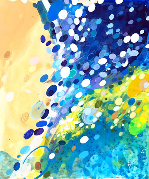 Paradox II Painting on Canvas by Artist  Deepa Koshaley