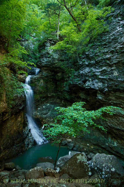 Eden Falls on Last Valley Trail Photograph 0201 | Waterfall Photography | Koral Martin Fine Art Photography