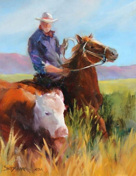 Morning Roundup Original Oil Painting