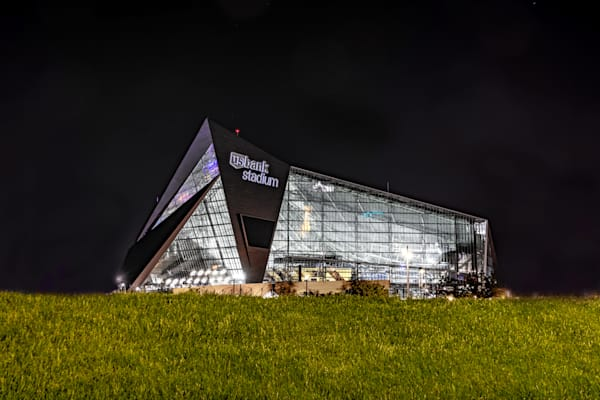 US Bank Stadium Grassy Knoll - Minneapolis Photos | William Drew Photography