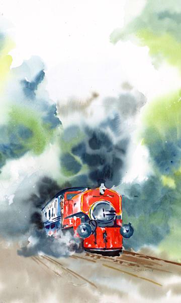 Jan Gellatly - Train