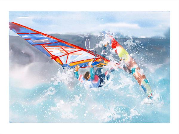 Jan Gellatly - Wind Surfer