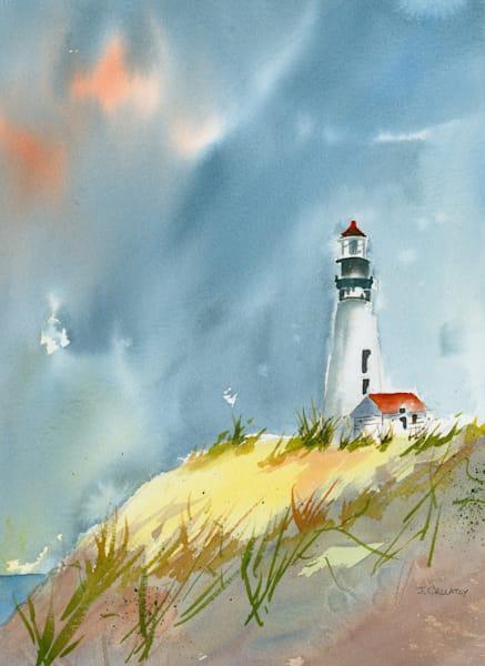 Jan Gellatly - Yaquina Lighthouse