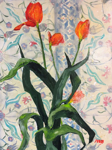 Turkish Tulips 2 Art | PoroyArt
