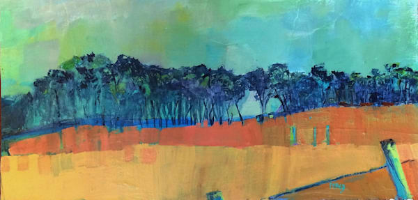 Big Sur Treeline Art | PoroyArt