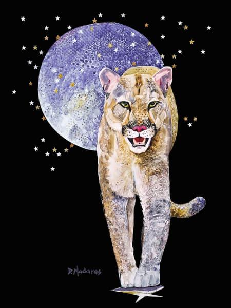 Bad Moon Rising Watercolor
