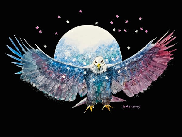 Fly Like an Eagle Watercolor