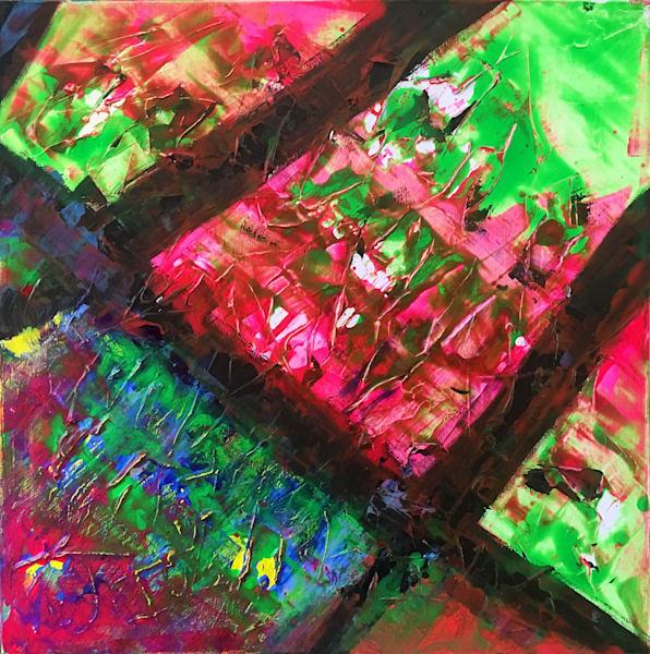 Joker's Revenge abstract PMS painting