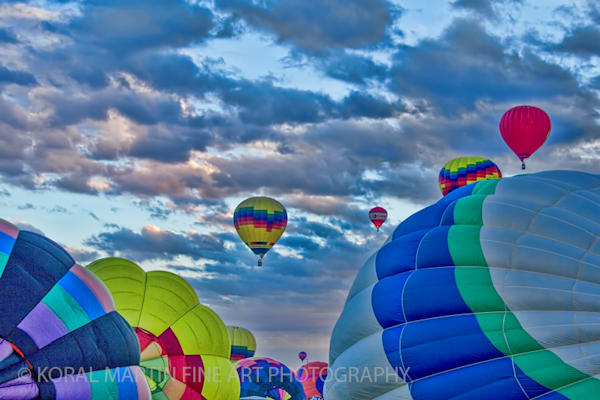 Albuquerque Balloon Fiesta Photograph 3096C | New Mexico Photography | Koral Martin Fine Art Photography