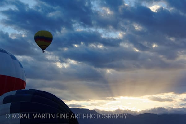Balloon Fiesta Photograph 3174 | New Mexico Photography | Koral Martin Fine Art Photography