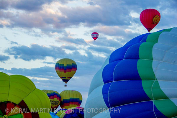 Albuquerque Balloon Fiesta Photograph 3090 | New Mexico Photography | Koral Martin Fine Art Photography