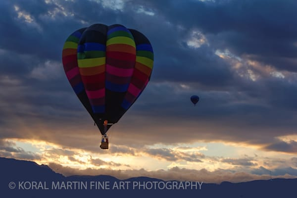 Albuquerque Balloon Fiesta Photograph 3115 | New Mexico Photography | Koral Martin Fine Art Photography