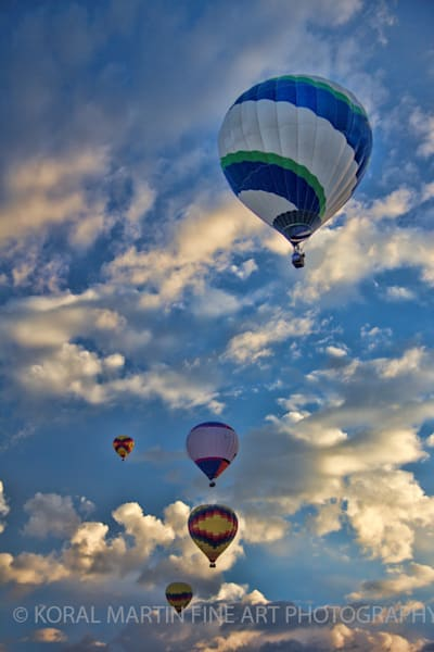 Martin Balloons Fiesta Photograph 3215 Photograph 1 | New Mexico Photography | Koral Martin Fine Art Photography