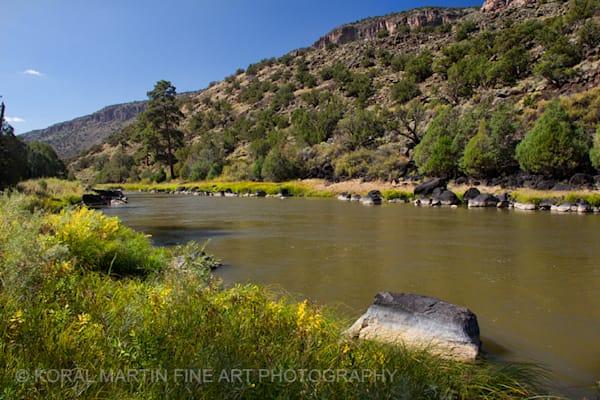 Rio Grande Wild Rivers Photograph 0365  | New Mexico Photography | Koral Martin Fine Art Photography