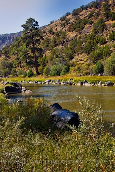 Rio Grande Wild Rivers Photograph 0370  | New Mexico Photography | Koral Martin Fine Art Photography