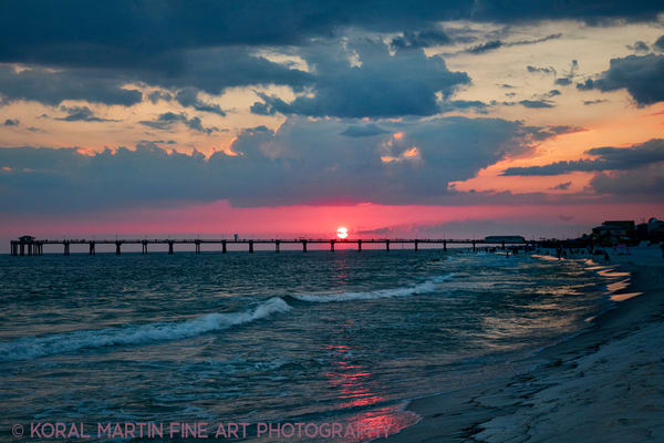 Sunset Beach photograph1609  | Florida Photography | Koral Martin Fine Art Photography