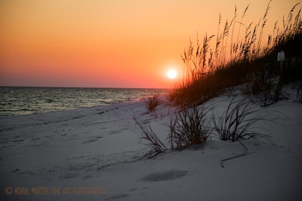 Ocean Sunset on Beach Photograph 1190 FL  | Florida Photography | Koral Martin Fine Art Photography