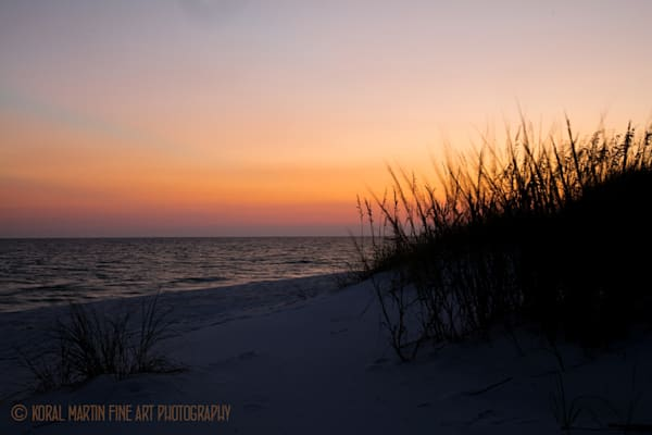 Ocean Sunset on Beach Photograph 1224 FL  | Florida Photography | Koral Martin Fine Art Photography