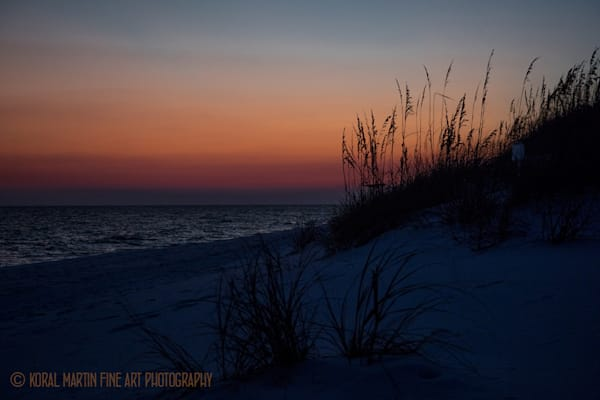 Ocean Sunset on Beach Photograph 1232 FL  | Florida Photography | Koral Martin Fine Art Photography