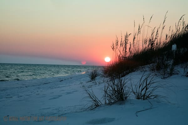 Ocean Sunset on Beach Photograph 1193 FL  | Florida Photography | Koral Martin Fine Art Photography