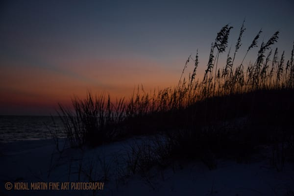 Ocean Sunset on Beach Photograph 1231 FL  | Florida Photography | Koral Martin Fine Art Photography