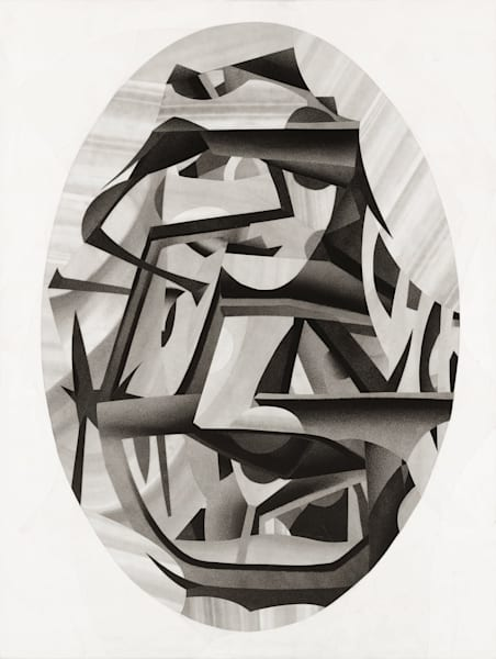 Smitten Original Abstract Art by Daniel Voelker